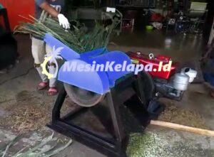 mesin cacah pelepah sawit